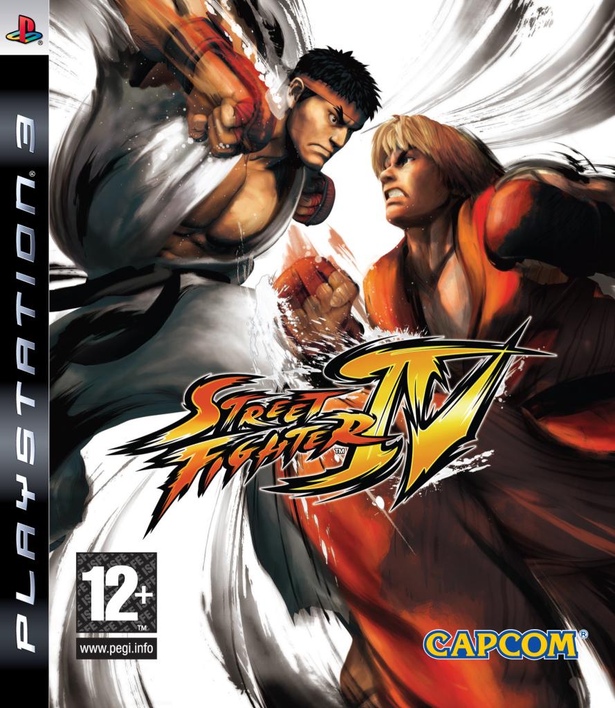[Test PS3] Street Fighter IV SF4packshotPS3pegi